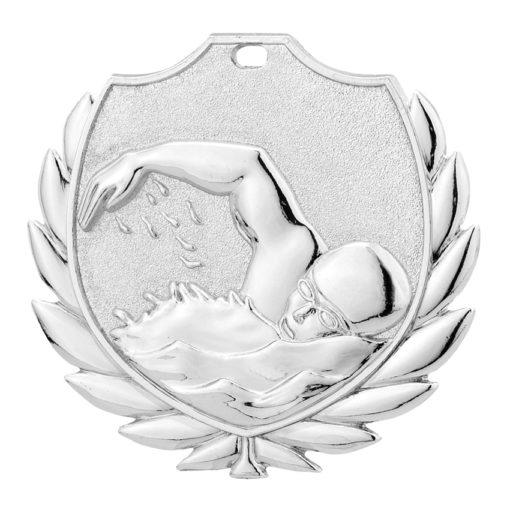 sølvmedalje svømning