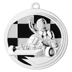 sølvmedalje gokart