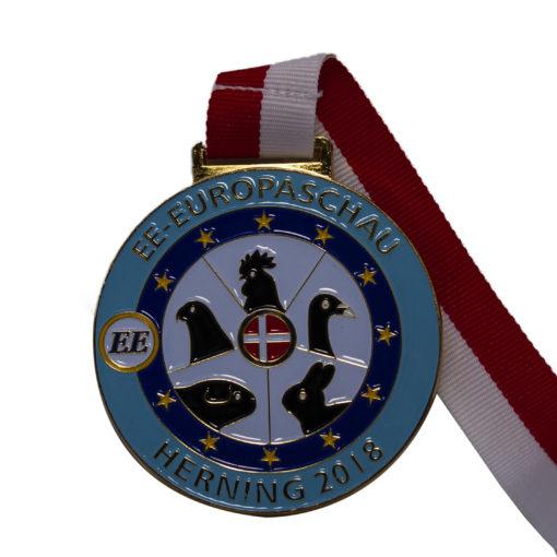 lakeret medalje