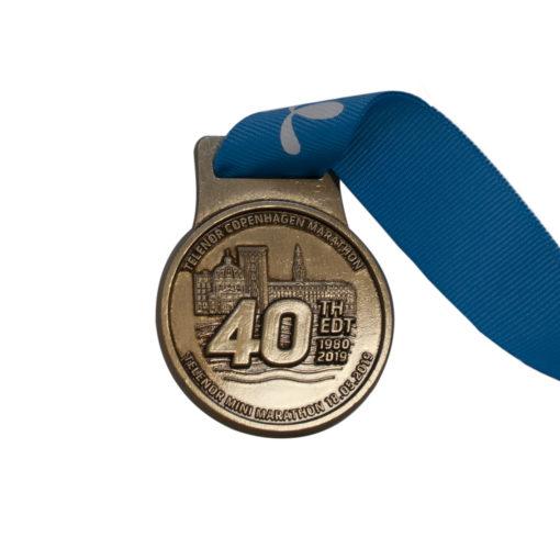 præget medalje